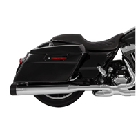 Vance & Hines Chrome Raider OverSized 450 Slip-On Mufflers with Black Tips