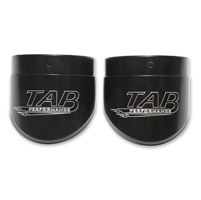 TAB Performance 4″ Black Slash Cut End Cap