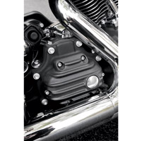EMD Black Ribbed Transmission Side Cover