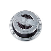 Kuryakyn Bahn Chrome Complete Air Cleaner Assembly