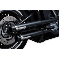 Crusher Maverick Black Slip-on Mufflers
