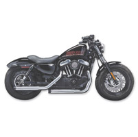 Crusher Maverick Chrome Slip-on Mufflers
