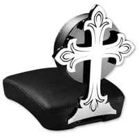 Resurrection Chopper Gear Cross ABC Backrest with Pillion