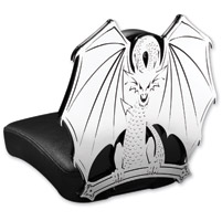 Resurrection Chopper Gear Dragon ABC Backrest with Pillion