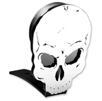 Resurrection Chopper Gear Skull ABC Backrest