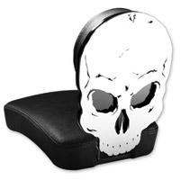 Resurrection Chopper Gear Skull ABC Backrest with Pillion