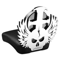 Resurrection Chopper Gear Headache ABC Backrest with Pillion