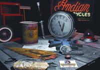 """Wayne Wright's """"Indian Old School Nostalgia"""" Poster"""