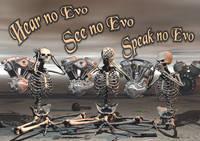 """Wayne Wright's """"Hear No Evo"""" Poster"""