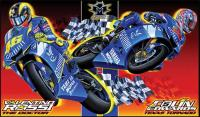 Moto 1 USA Edwards& Rossi Poster