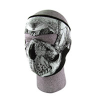 ZAN headgear Neoprene Glow-in-the-dark Skull Face Mask