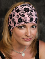 That's A Wrap Floral Lace Knotty Band Headband