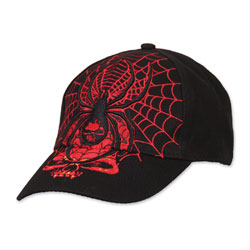 Black Widow Embroidered Ball Cap