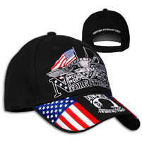 Never Forgotten POW Embroidered Ball Cap