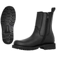 Ridge Footwear 8″ Leather Side Zipper Boot - Wide Width