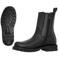 Ridge Footwear 8″ Leather Side Zipper Boot - Wide Width