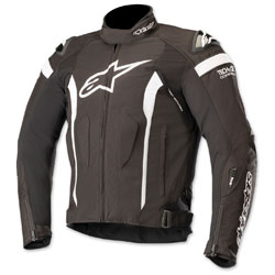 Alpinestars Men's T-Missile Drystar Black/White Textile Jacket