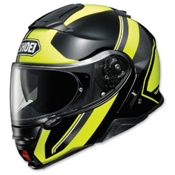Shoei Neotec II Excursion Black/Yellow Modular Helmet -  77-11931