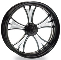 Performance Machine Gasser Contrast Cut Front Wheel, 17″ x 3.5″