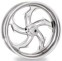 Performance Machine Rival Chrome Front Wheel, 19″ x 2.15″