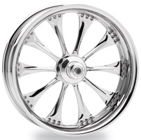 Performance Machine Hooligan Chrome Front Wheel, 21″ x 2.15″