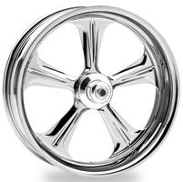 Performance Machine Wrath Chrome Rear Wheel, 17″ x 6″