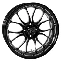 Performance Machine 15 x 5.5 Trike Wheel Heathen Style Platinum Finish