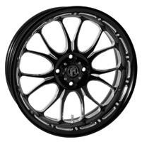 Performance Machine 15 x 5.5 Trike Wheel Heathen Style Platinum Finish