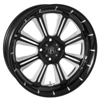 Performance Machine 15 X 5.5 Trike Wheel Riviera Style Contrast Cut Finish