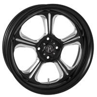 Performance Machine 15 X 5.5 Trike Wheel Wrath Style Platinum Finish