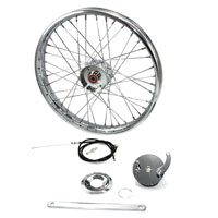 V-Twin Manufacturing 21″ x 1.85″ Mini Brake Wheel Assembly