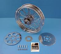 V-Twin Manufacturing Chrome Wheel Assembly