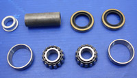 V-Twin Manufacturing Front Dual Disc Hub Bearing Rebuild Kit