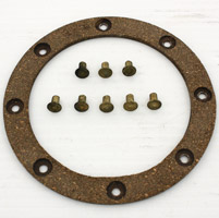 V-Twin Manufacturing Big Twin Clutch Hub Friction Disc with Rivets
