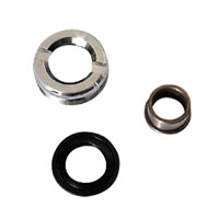 V-Twin Manufacturing Rear Hub Lock Nut Kit