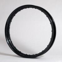 V-Twin Manufacturing Early Steel Wheel Rim, Black 18