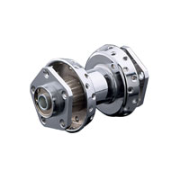 Chrome Front Wheel Hub
