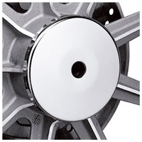 J&P Cycles® Front Wheel Hubcap