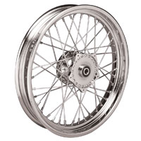 V-Twin Manufacturing 19″ × 2.50″ 40 Spoke Front Wheel