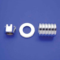 Colony Rear Axle Nut & Spacer Kit