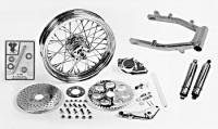 Wheel, Swingarm and Brake Assemblies