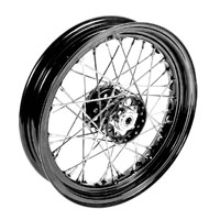 V-Twin Manufacturing Star Type Wheel Assembly, 16 x 3.00