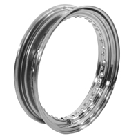 V-Twin Manufacturing Raw Replica Rim, 16 x 3