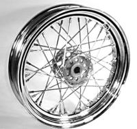 Servi Car Chrome Rear Wheels, 16