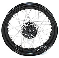 Servi Car Black Rear Wheels, 18
