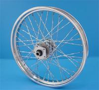 Twirled Spoke Front Wheel, 21 x 2.15