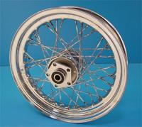 Twirled Spoke Rear Wheel, 17