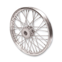 V-Twin Manufacturing Chrome 21? x 2.15? Spool Wheel