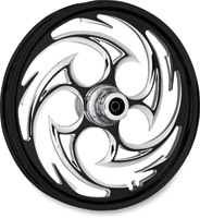 RC Components Savage Eclipse One-Piece Aluminum Dual Disc Front Wheel, 21″ x 3.5″ without ABS