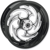 RC Components Savage Eclipse One-Piece Aluminum Rear Wheel, 18″ x 5.5″ for OEM pulley with ABS